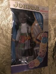 Vintage 80's Joanna Doll With Long Hair You Can And Curl New In Box