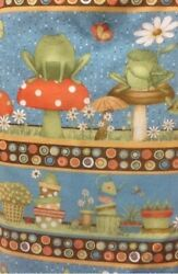 Hip Hop Garden South Sea Imports Quilt Cotton Border Print by the yard
