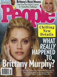 People Magazine October 18th 2021 What Really Happened to Brittany Murphy?