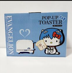 Evangelion Rey Ayanami Hello Kitty Pop-up Toaster Hk-evats Unused From Japan F/s