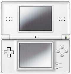 Crystal White Nintendo Ds Lite Crystal White Manufacturer Discontinued