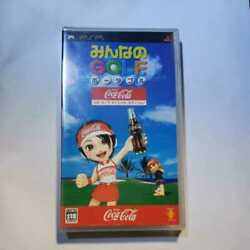 Psp Everybody39s Golf Portable Cocacola Special Edition