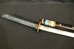 Ww2 Imperial Japanese Officers Sword Katana Showa Seki Signed And Family Fittings