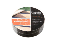 2 Rolls Deck Protective Joist Tape 1 - 5/8 In X 50 Ft Butyl Self Adhesive New