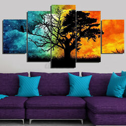 5X Unframed Modern Art Oil Painting Print Canvas Picture Home Room Wall Deco ◆