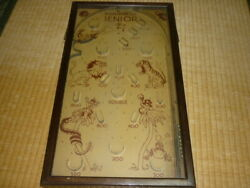 Extremely Rare 1930 About Made In U.s.a. Usa Wooden Tabletop Pinball