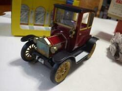 Ultra Rare Tinplate Schuco Oldtimer Ford Model Coupe 1917 Tin Plate/windup