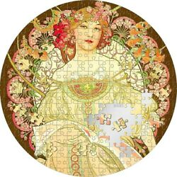 Reverie By Mucha Micropuzzle Treasures 3 Oz Silver Coin 20 Palau 2021