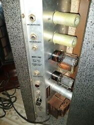 Sears Silvertone Amp 60s Model 1482 Never Repaired Working Fine