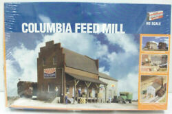 Ho 1/87 Scale Walthers 933-3090 Columbia Feed Mill Building Kit Sealed