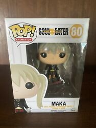 Funko Pop Soul Eater Maka 80 Comes In Pop Protector
