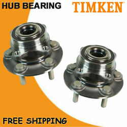 2p Timken Front Wheel Hub Bearing Assembly For 2013 - 2016 Ford Fusion 13-18 Mkz