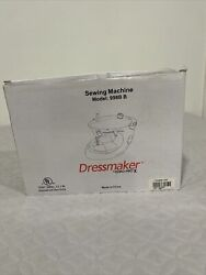 Dressmaker By Euro-pro Portable Sewing Machine In Yellow Style 998b | 120v