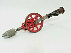 Super Nice Millers Falls 2 Egg Beater Hand Drill Ready For Work Inv Pom04