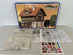 Lgb Pola 901 Train Station - Weather Proofed Model Building Kit G-scale