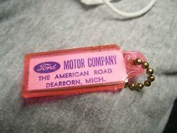 Vintage 1960' S Ford Accessories Nos Promo Fomoco Auto Part Key Holder Cars Oem