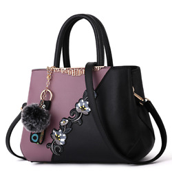 Embroidered Messenger Bags Women Leather Handbags Bags For Women 2021 Sac A Main