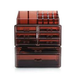 Cosmetic Organizer Rack with 8 Drawers Makeup Case Storage Jewelry Holder Box $29.95