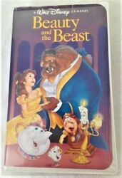 Walt Disney Classic Beauty And The Beast Rare Black Diamond Collection Vhs Tape