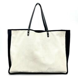 A92885 Cc Coco Mark Ladies First Lady Shawl Tote Bag Leather No.4823