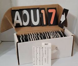 """200+ Sign Letters And Numbers Marquee 4 3/8"""" Menu Message Board Signtrax Sign Trax"""