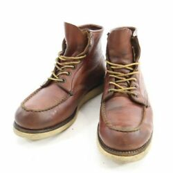 Red Wing Made In 1997 Dog Engraved 875 Irish Setter Red Wing Vintage No.8945