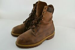 Red Wing Used Irish Setter Logger Boots Vintage Oil Leather No.9662