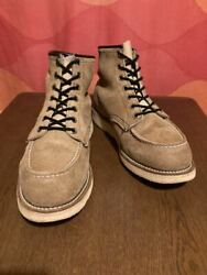 Red Wing Early 1996 Embroidery Feather Tag Vintage Irish Setter Suede No.9297