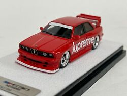 1/64 404 Error Bmw M3 E30 Zwingfils Supreme In Red Limited To 399 Pieces