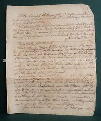 1776 Antique David Kennedy Goods Chattels Londonderry Mccleary West Chester Pa