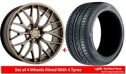 Alloy Wheels And Tyres 19 1form Edition 1 For Seat Altea Xl 06-15