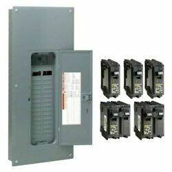 Main Breaker Plug-on Neutral Load Center 150 Amp 30-space 60-circuit With Cover