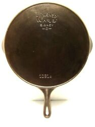 Vintage Wagner Ware Cast Iron Skillet 11 1061 A Stylized Logo Heat Ring