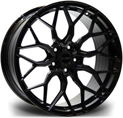 Alloy Wheels Wider Rears 21 Riviera Rf108 For Bmw 5 Series [f10] 10-16