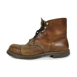 Size Red Wing Redwing Embroidered Feather Tag 8111 Iron Ranger Boots Cap-toe