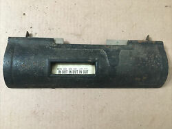 Antique Itr International Time Recording Punch Clock Front Metal Panel Part 2