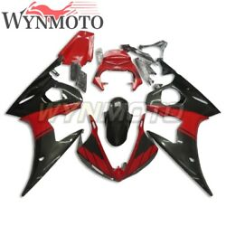 Red Black Injection Fairings For Yamaha Yzf R6 2005 Yzfr6 Abs Plastic Bodywork