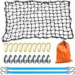 Bungee Cargo Net 4' X 6' Stretchable To 8' X12' Pickup Truck Bed Trailer Luggage