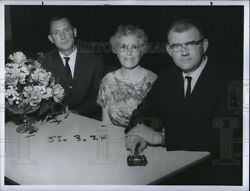 1964 Press Photo River Rd School Pta Officers Pilcher David And Thompson 8x6