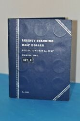 Liberty Standing Half Dollar Collection 1937 To 1947. Number 2 Rare