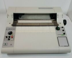 Linseis L200e Flat Bed Chart Recorder Untested
