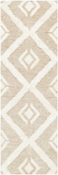 Surya Cherokee Wool 9and039 X 12and039 Rectangle Area Rugs With Tan And Cream Chk2304-912