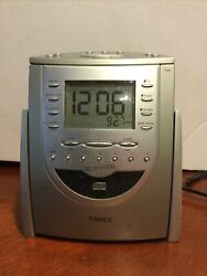 Timex T618t Nature Sounds Cd Player Am/fm Radio And Alarm Clock