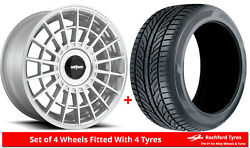 Alloy Wheels And Tyres 19 Rotiform Las-r For Renault Scenic [mk3] 09-16