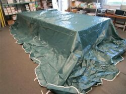 Floe Boat Lift Canopy 22and039 X 9and039 Shelter Rite / Vinyl Cover Green / White Marine