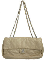 Silver Fittings Ultra Stitch Chain Shoulder Bag Women And039s Week No.5401