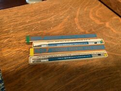 2- Eagle Turquoise 3375 Drawing Lead Holder Pencil New Old Stock Box And Inst.