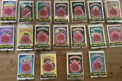 Garbage Pail Kids 1st Series-lot Of 146 Sealed Packs Of 3 Giant Stickers