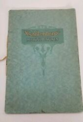 Rare 1916 Kahlenberg Marine Engines Catalog Semi-diesel 2 To 55 Hp - 20 Pages