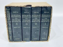 Handfuls On Purpose For Christian Workers And Bible Students Smith And Lee 5 Vol Set
